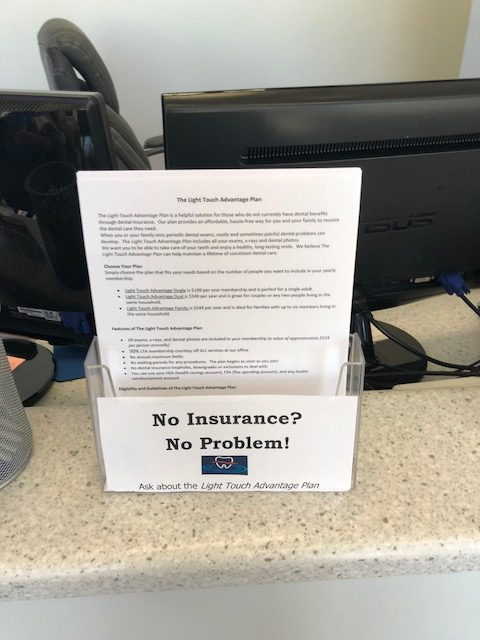No insurance Phoenix sedation dentist